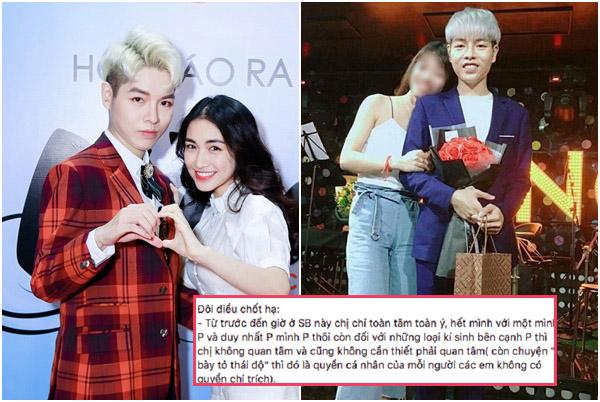 """Rộ tin đồn """"chị em dâm bụt"""" mâu thuẫn, trưởng FC Đức Phúc đăng đàn nói đểu Hòa Minzy là """"ký sinh""""?"""