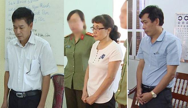 Sai phạm điểm thi ở Sơn La: Khởi tố bị can 3 người, cấm đi khỏi nơi cư trú 2 người