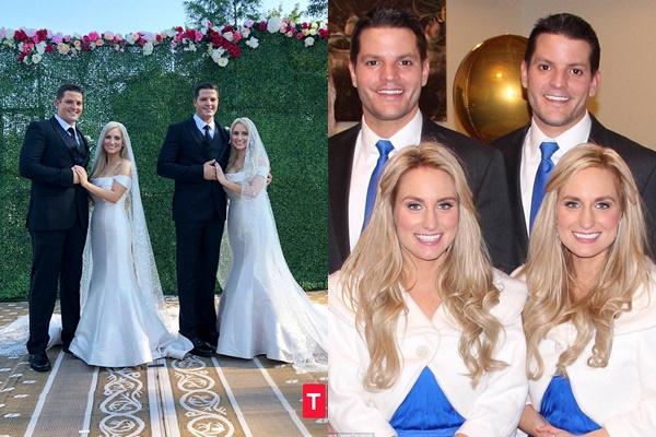Truyện cổ tích ngoài đời thật: Cặp anh em song sinh kết hôn với cặp chị em sinh đôi