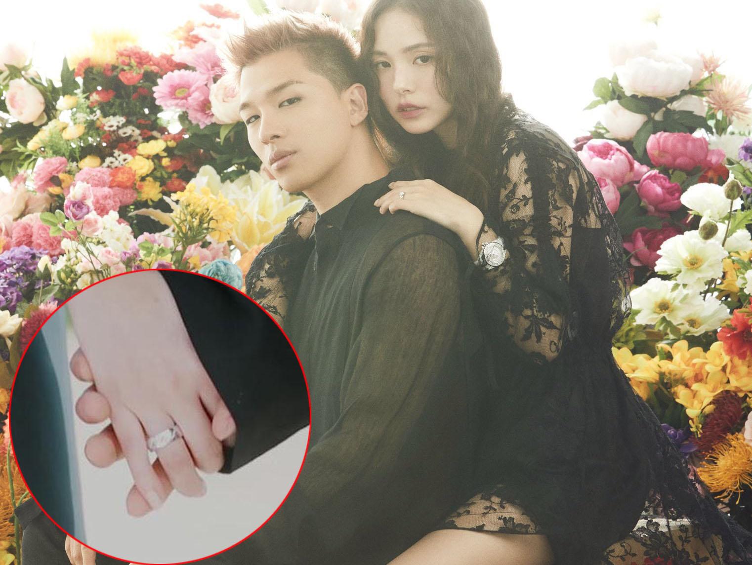 """Trước lễ cưới, Taeyang tung ảnh cưới siêu """"độc"""", khéo khoe cặp nhẫn cưới vàng trắng hơn 100 triệu"""