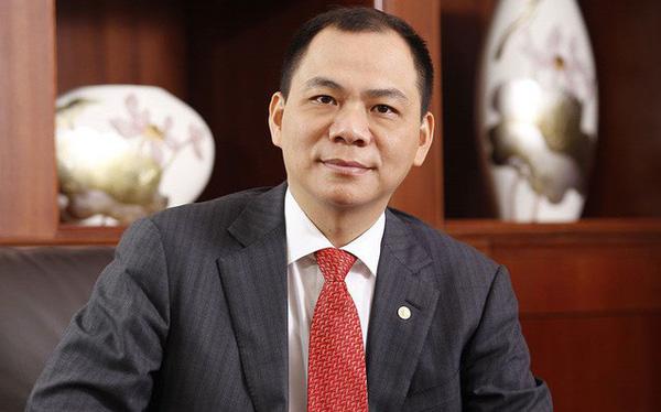 Ngay sau khi VinFast ra mắt thành công, Chủ tịch Vingroup cán mốc tài sản 6,7 tỷ USD, xếp thứ 235 thế giới