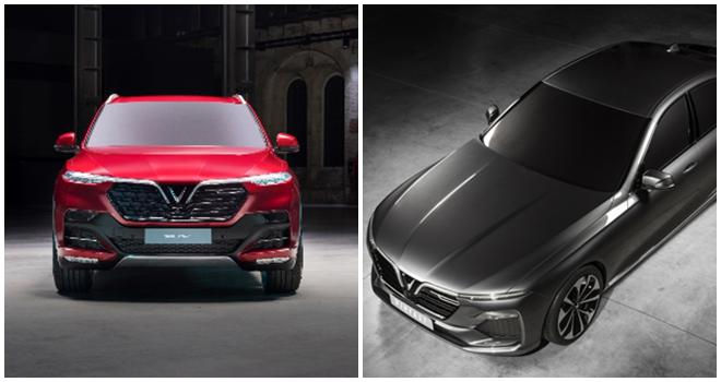 Vingroup ra mắt 2 mẫu thiết kế xe đầu tiên của VinFast với vẻ hiện đại, sang trọng và đậm chất Việt