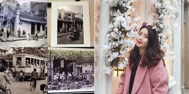Tổ chức thành công triển lãm ảnh về Hà Nội tại Anh, cựu Amser xinh đẹp và tài năng khẳng định năng lực của người trẻ Việt