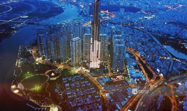 Tòa nhà Landmark 81 cao nhất Việt Nam đẹp lộng lẫy giữa trung tâm Sài Gòn