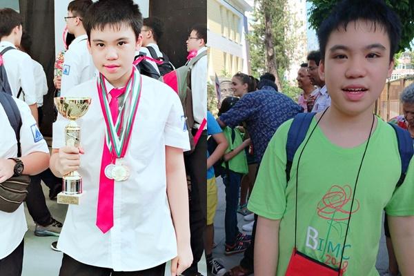 Hết chơi cờ, piano, đá bóng rồi đi bơi, nam sinh trường Ams vẫn đạt HCV Toán học trẻ quốc tế