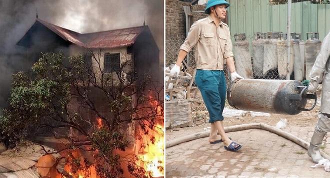 Vụ cháy căn biệt thự 3 tầng làm một cụ bà thiệt mạng do kinh doanh gas trái phép