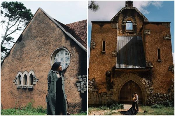 """Xem The Nun xong nổi """"máu liều"""" lên Đà Lạt khám phá tu viện mang lời nguyền săn ảnh """"ma mị"""""""