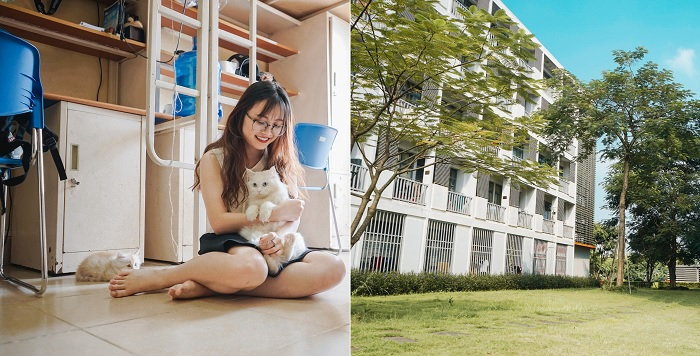 """Nhắc tới ký túc xá còn nhà giàu Việt Nam, không thể thiếu được """"resort"""" của Đại học FPT"""
