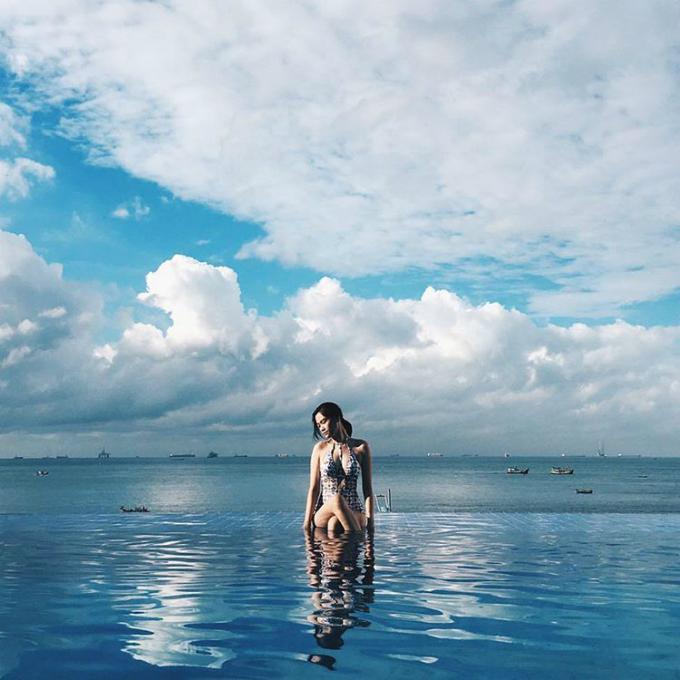 """""""Ghim vào tim"""" loạt bể bơi vô cực đẹp xuất sắc, nhất định phải nắm tay nhau """"la cà"""" cho đến khi hè hết nóng"""
