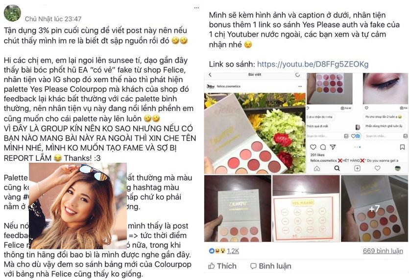 """Chưa kịp thanh minh, shop của mẹ ChangMakeup lại dính """"phốt"""" bán bảng mắt nhái, cộng đồng mạng tung bằng chứng không thể chối cãi"""