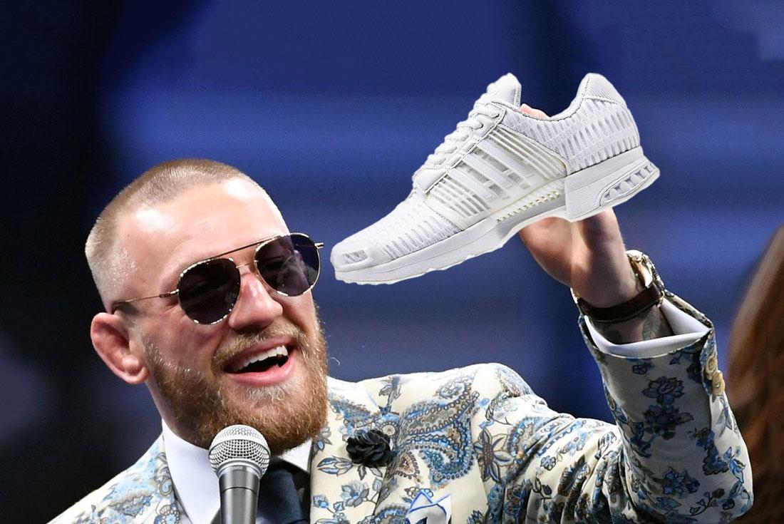 """Điểm danh những đôi giày sneakers trên chân """"thánh cuồng nộ"""" Conor McGregor"""
