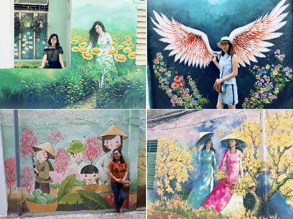 Không chỉ Hà Nội, giữa lòng Đà Nẵng cũng có một phố bích họa đẹp chẳng kém, giới trẻ đứng ngồi không yên