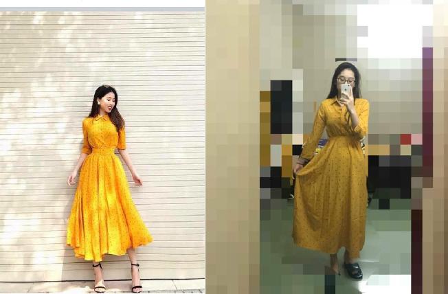 Mua váy vàng hot-trend trên mạng cô gái nhận cái kết đắng, CĐM vào cười chê: Chỉ là eo không bóp nhỏ được như thế thôi mà