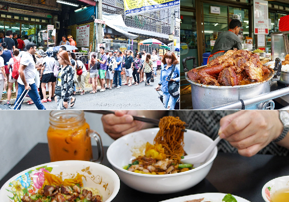 Muốn thách thức sự kiên nhẫn thì xách vali ngay tới Bangkok học cách xếp hàng chỉ để ăn...một tô mỳ!