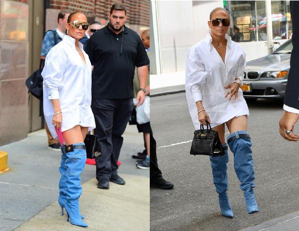 """CĐM đứng ngồi không yên vì """"chiếc quần tụt"""" của Jennifer Lopez, nhưng sự thật lại """"ngã ngửa"""""""