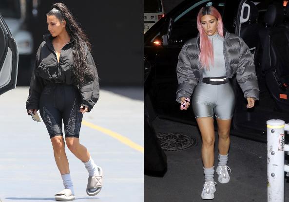 CĐM nghi ngờ Kim Kardashian và Kayne West trục trặc khi anh chàng liên tục để vợ ăn mặc kỳ cục thế này ra đường