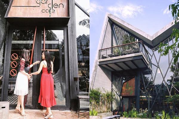 """Check-in quán cafe vườn treo mang phong cách """"hơi Tây"""" có 1-0-2 ở Hà Nội"""