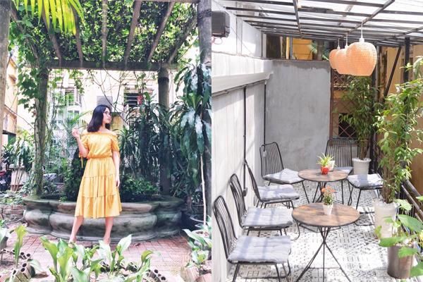"""Trốn nắng ở cafe biệt thự cổ """"đẹp không góc chết"""" ngay trong lòng Hà Nội"""