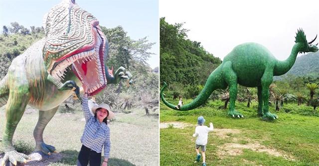 """Book gấp lịch chơi với khủng long, tắm suối khoáng nóng tại """"Jurassic world"""" Khánh Hòa """"xịn"""" nhất cả nước"""