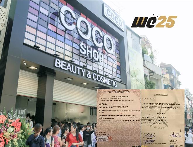 """ĐỘC QUYỀN: Coco shop tung bằng chứng """"khủng"""", đập tan nghi án trộn mỹ phẩm giả, bán giá mỹ phẩm thật!"""