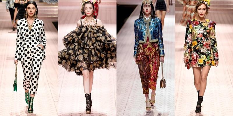 """""""Tứ đại mỹ nhân"""" châu Á catwalk trên cùng một sàn runway, Milan Fashion Week thường niên bỗng khiến giới mộ điệu """"bấn loạn"""" hơn bao giờ hết"""