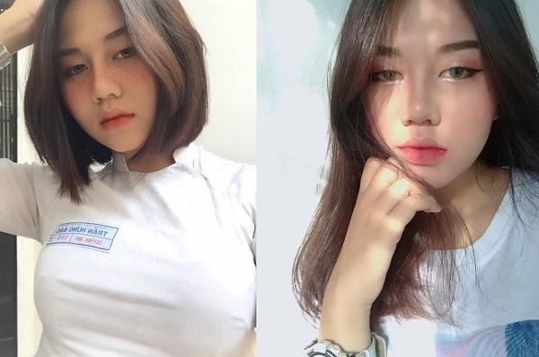 """Nữ sinh trường Trần Hưng Đạo được truy lùng vì đẹp như """"gái Tây"""" trong bộ đồng phục áo dài trắng"""
