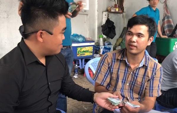 Vừa kêu gọi ủng hộ gia đình 2 hiệp sĩ tử vong, Nguyễn Sin đã thu về số tiền gần tỷ đồng từ các nhà hảo tâm