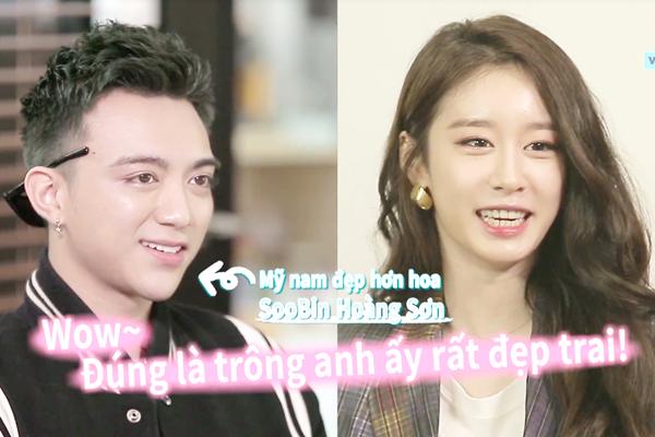 """Hé lộ biểu cảm siêu bất ngờ và """"khó lường"""" của Ji Yeon cùng SooBin Hoàng Sơn khi lần đầu tiên gặp mặt nhau"""