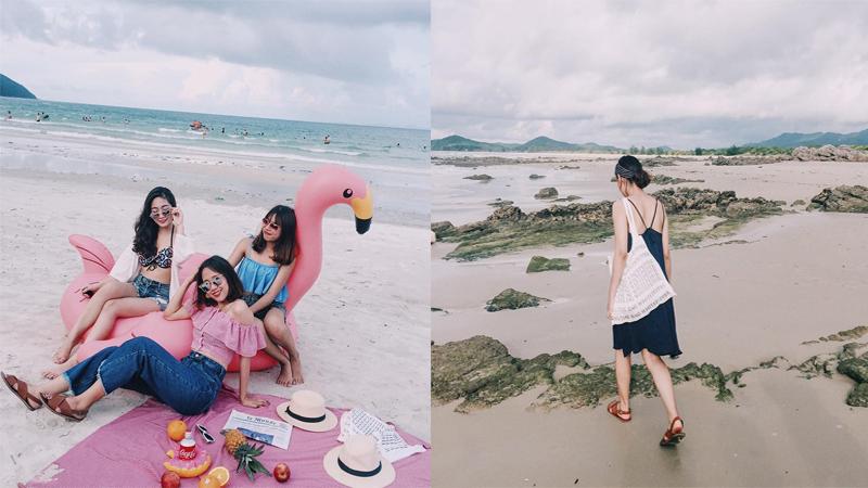 """Mùa hè này nhất định phải cùng """"cạ cứng"""" tới bãi biển hoang sơ đẹp ảo diệu nhất Vịnh Bắc Bộ"""