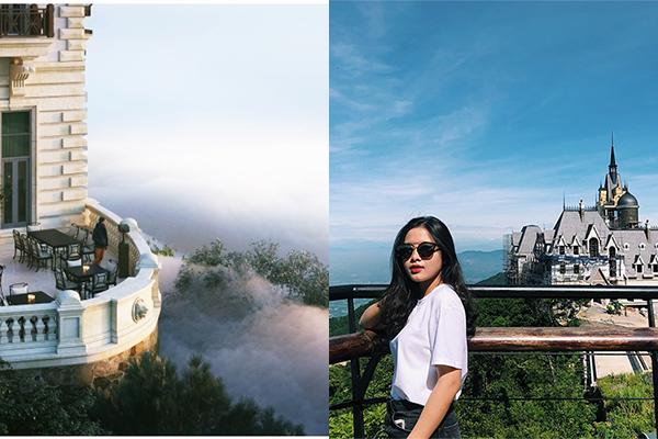 Tòa lâu đài trên núi giữa bồng bềnh mây Tam Đảo sắp