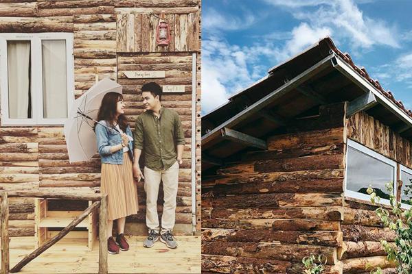 """""""Tan chảy"""" con tim ở nhà gỗ bìa rừng đậm chất châu Âu mới mở duy nhất ở Mộc Châu"""