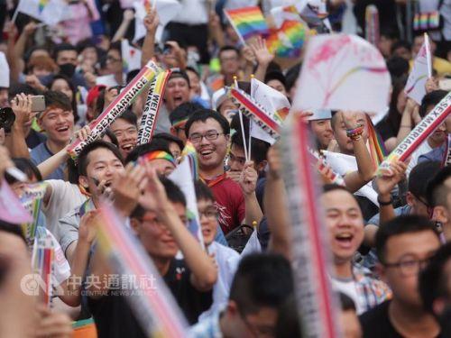 Đài Loan trở thành nơi đầu tiên tại châu Á hợp pháp hóa hôn nhân đồng tính