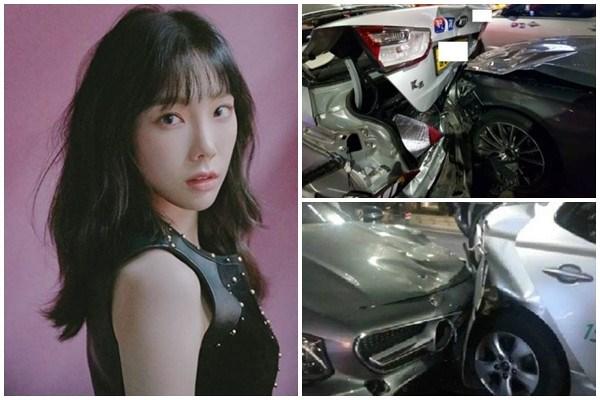 Taeyeon SNSD gây tai nạn liên hoàn, bị tố thấy nạn nhận chảy máu nhưng cố tính ngó lơ?