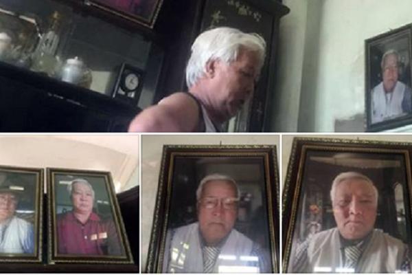 Ông bố xì-tin nhất Vịnh bắc bộ: Chụp ảnh tự sướng rồi in ra treo khắp nhà