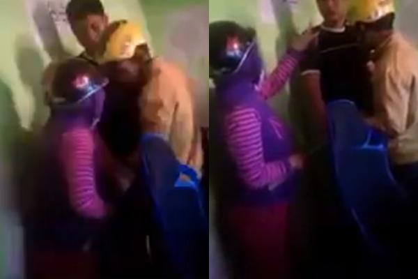 """""""Điên tiết"""" vì con ham chơi game, bà mẹ lột mũ bảo hiểm đập tan màn hình máy tính của quán net"""