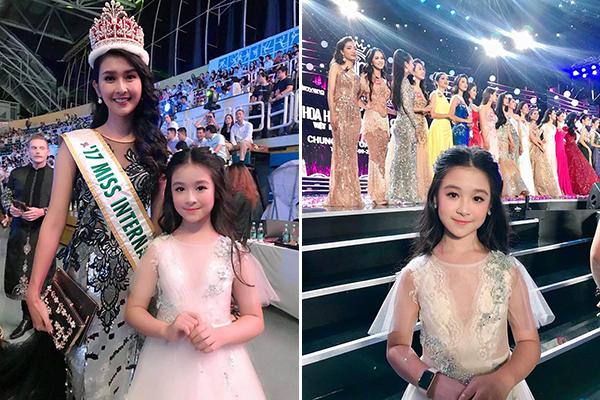 """Chỉ xuất hiện vài giây tại Hoa hậu Việt Nam 2018, bé gái 10 tuổi được dân mạng dự đoán """"chắc chắn sẽ là Hoa hậu tương lai"""""""