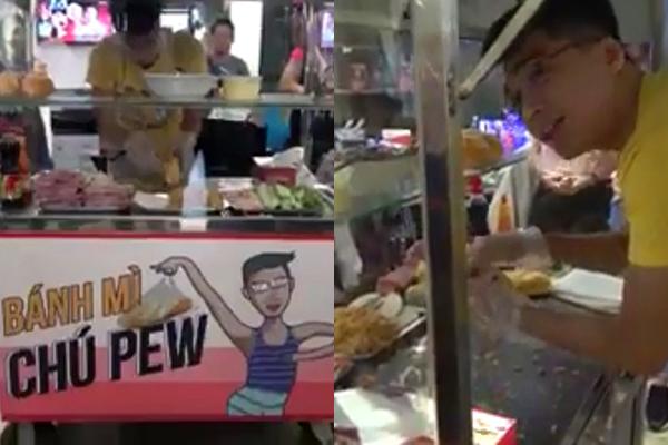 """Pew Pew vừa thực hiện được ước mơ từ hồi 16 tuổi """"mở tiệm"""" bánh mỳ, hotgirl Trâm Anh đã ngỏ ý xin góp vốn làm ăn"""