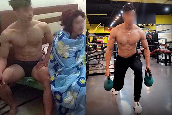 """Tìm ra Facebook Huấn luyện viên phòng gym """"tòm tem"""" với nữ học viên bị bắt tại trận, đẹp trai mà """"khẩu vị mặn"""" quá"""