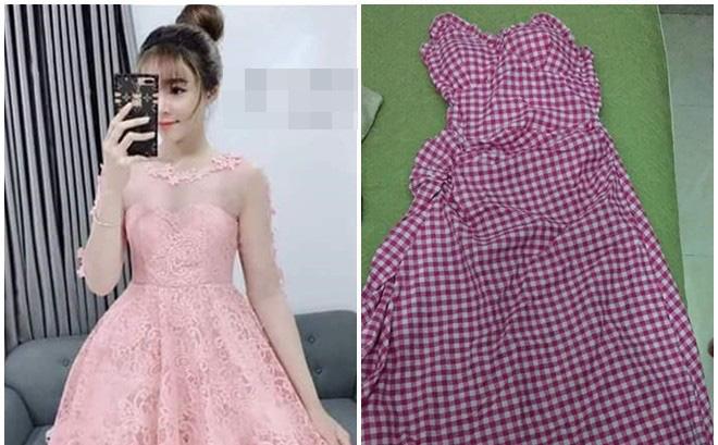 """Đặt mua váy sang chảnh ai ngờ nhận lại """"giẻ lau nhà"""", cô gái nhắn tin dằn mặt chủ shop thì lập tức bị chặn Facebook"""