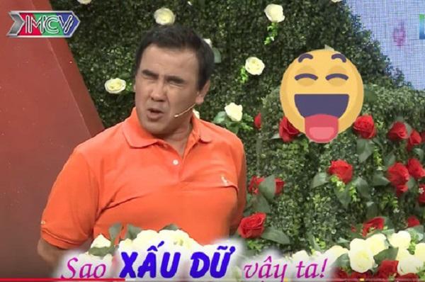 """Bạn muốn hẹn hò: Vừa thấy cô gái, MC Quyền Linh đã thốt lên """"Trời ơi, sao xấu dữ vậy ta"""" khiến chàng trai biến sắc"""