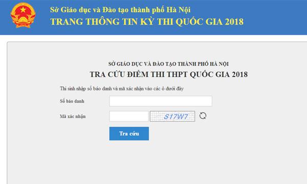 HOT: Chính thức công bố điểm thi THPT Quốc gia 2018 tất cả các tỉnh thành