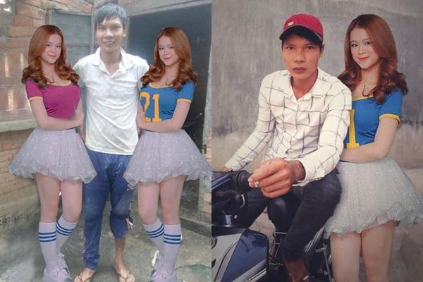 """Lộc """"Idol phụ hồ"""" đòi đứng cạnh Linh Ka vì quá yêu, dân mạng photoshop cho cái kết đẹp cả hơn cả ngôn tình"""