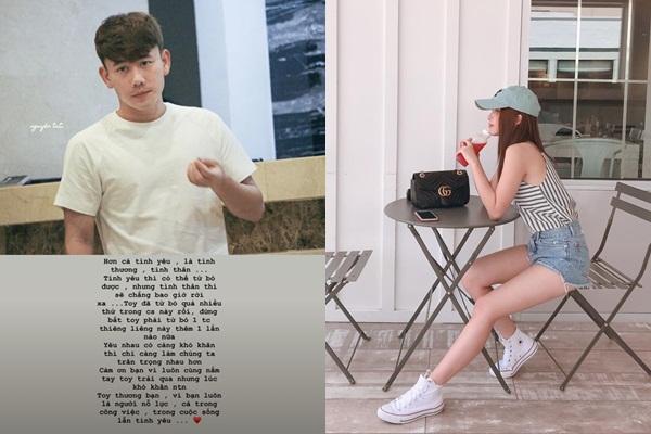 """Bạn gái cầu thủ Minh Vương khiến nhiều người lo lắng khi đăng story ẩn ý chia tay: """"Đừng bắt tôi phải từ bỏ tình cảm thiêng liêng này"""""""