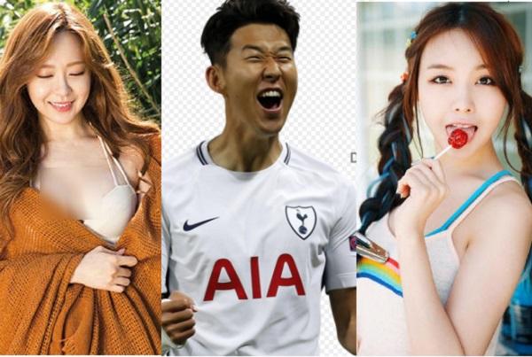 """Không chỉ đá bóng giỏi, danh thủ Son Heung-Min còn có biệt danh """"sát gái bậc nhất"""", ngắm loạt ảnh người yêu là biết!"""