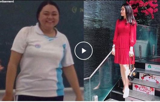 """Bạn sẽ không thể tin được sau khi theo dõi màn """"biến đổi"""" của cô nàng từng nặng 100kg nhờ nỗ lực giảm cân"""