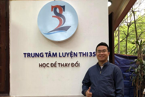 """Từ một cậu sinh viên """"tay trắng"""", chàng trai 9x trở thành nhà điều hành 3S – trung tâm luyện thi hàng đầu Hà Nội"""