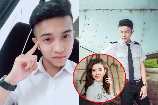 """Thật không ngờ Á hậu 2 Thúy An lại có em trai như """"soái ca ngôn tình"""", mặc trang phục phi công đẹp chỉ muốn ngất!"""