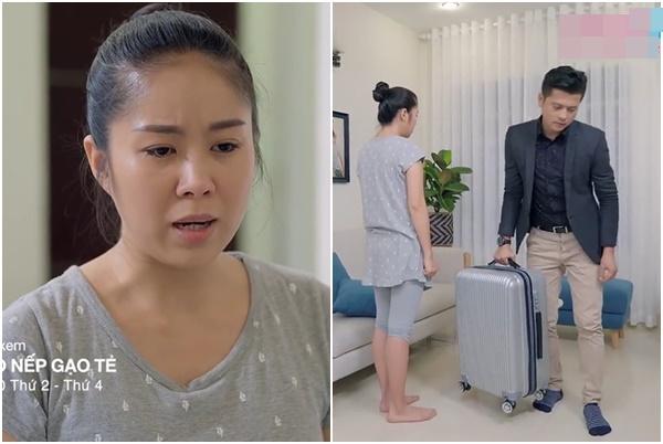 """Còn yêu tha thiết, Hương vẫn phải đau đớn xếp hành lý cho chồng """"đi theo"""" bồ nhí giàu có"""