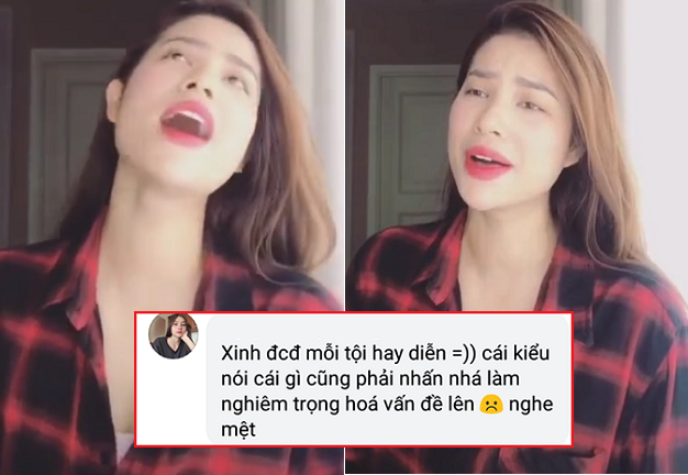 """Cover hit Mỹ Tâm, Phạm Hương lại bị chê """"hát thì ít diễn thì nhiều"""", luyến láy quá đà nghe cũng thấy mệt"""