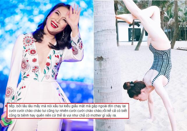 """Vừa vui vẻ nhún nhảy với Mỹ Tâm, Hà Hồ lại bất ngờ đăng status lạ, ám chỉ có kẻ """"nói xấu giấu mặt"""""""